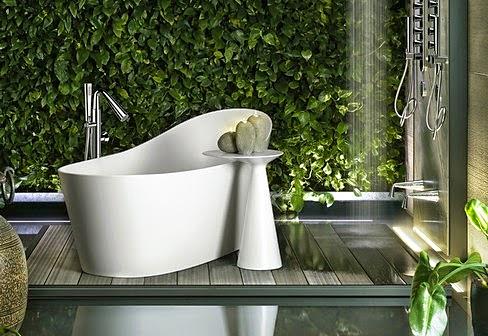 Сантехника и мебель для ванной комнаты Cono итальянской компании GESSI