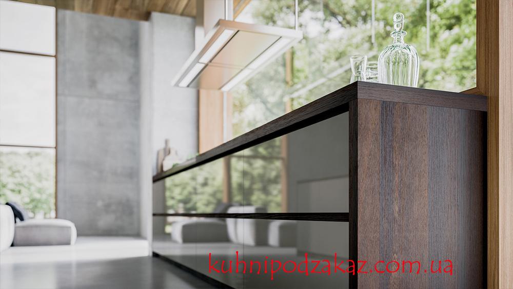 Современная кухня GD - Velvet Elite - Дуб termocotto лакированный